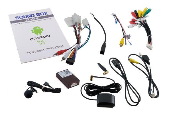 Штатний головний пристрій Soundbox SB-7122 2G для Honda CR-V 2012+